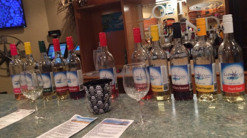 Lost Island wines