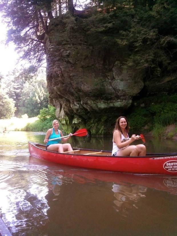Canoeing the Kickapoo